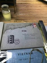 Load image into Gallery viewer, Vintage Vietnam War Ephemra- 1soldier- Dog Tags, Books W/ Original Delivery