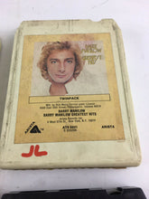 Load image into Gallery viewer, Vintage 8-track Tapes: Leo Sayer, Barry Manilow, The Baldknobbers, Herb Alpert