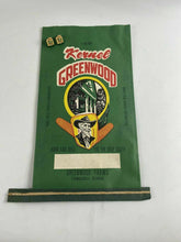 Load image into Gallery viewer, RARE THOMASVILLE, GEORGIA SEED CORN BAG AND 2 CLIPS - KERNEL GREENWOOD - GA