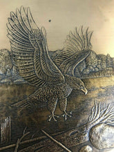 Load image into Gallery viewer, WENDELL AUGUST FORGE EAGLE BRONZE PLATTER/PLATE - Lot 590