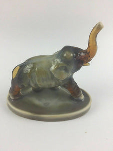 Mosser Elephant Figurine / Paperweight - lot 1355