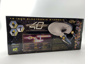 "RARE!  ""Where No Man Has Gone Before""  Diamond Select USS Enterprise NCC-1701"