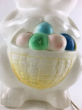 "Load image into Gallery viewer, Vintage Easter Bunny Light Up 32"" Blow Mold 5023"