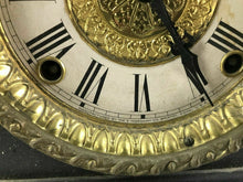 Load image into Gallery viewer, Ingraham ADRIAN 8-Day Mantle Clock Marbelized Trim Works - For Repair #1467