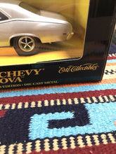 Load image into Gallery viewer, 1969 Chevy Nova SS Cortez Silver Metallic ERTL American Muscle 1:18 SCALE-9133