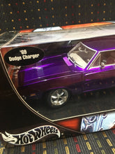 Load image into Gallery viewer, Hot Wheels '69 Dodge Charger R/T - Whips / Team Baurtwell - 1:18 2003 (Rare)
