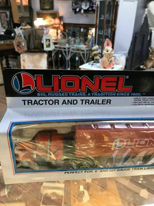 NIB Lionel Tractor And Trailer 6-12725-2454