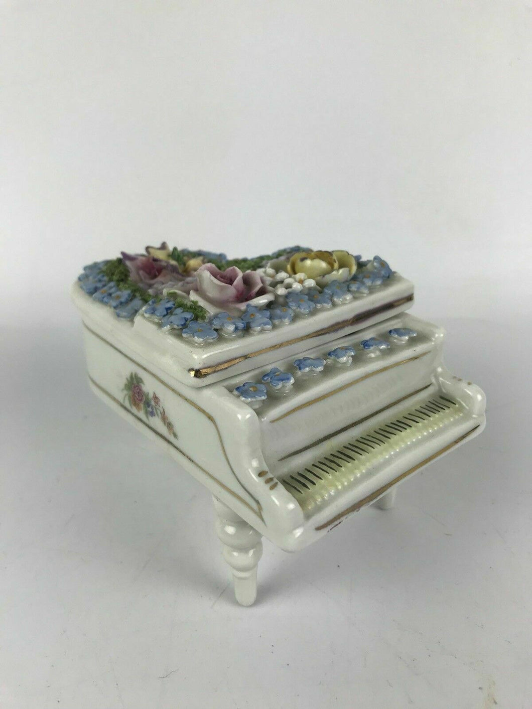 Elfinware Piano Trinket Box- lot 2046
