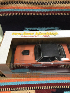 1970 Plymouth Cuda 440-6 Two-lane Blacktop Ertl American Muscle 1:18-9011