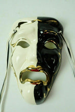 Load image into Gallery viewer, (3) Ceramic Wall Art Carnival Masks - lot 2476