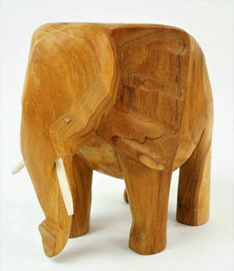 (2) ELEPHANT WOOD CARVINGS - lot 2792