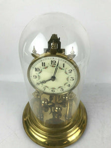 Hall Craft Corp. Anniversary Dome Clock German for Parts or Repair #1612