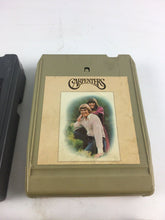 Load image into Gallery viewer, Vintage 8-track Tapes: Kansas, Carpenters, Beach Boys & Air Supply 5661