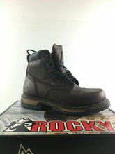 "Load image into Gallery viewer, 8 Mens Rocky 5696 IronClad 6"" Slip & Oil Resistant Waterproof Work Boots -3671"