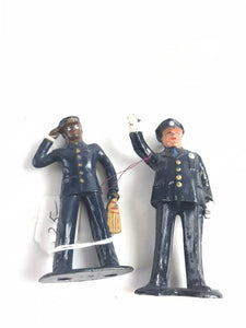 Vintge Lead Barclay Officer Figures (2)- 5752