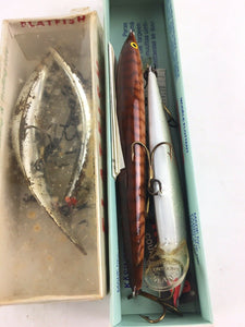Vintage Fishing Lures Lot Of 5 5071