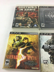 Lot Of 6 Ps3 Games 4670
