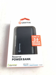 Griffin Reserve Power Bank - 9,000mAh