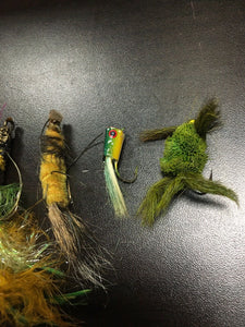 Vintage Fly Fishing Lot Of 5 8052