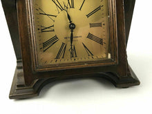 Load image into Gallery viewer, VINTAGE SETH THOMAS 4-JEWELS TABLE CLOCK ON EASEL #1523