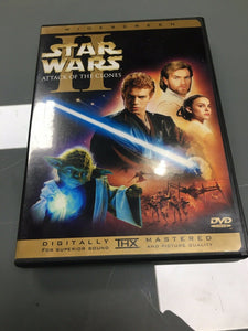 Star Wars Episode II: Attack of the Clones (DVD, 2002, 2-DISC SET, 3183
