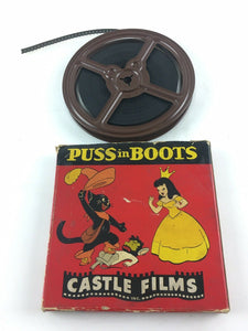 Vintage Puss In Boots Castle Films 8MM Film #5408