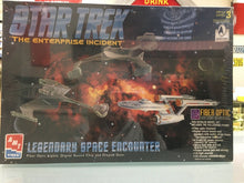 Load image into Gallery viewer, STAR TREK The Enterprise Incident Fiber Optic Model Kit 1996 Sealed 3224