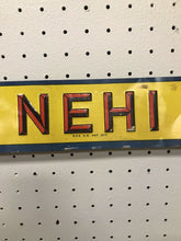 "Load image into Gallery viewer, Vintage Nehi Soda Tin Door Push Sign- Advertising- 19 3/4"" - B212"