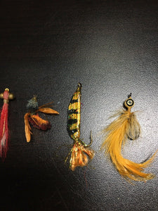 Vintage Fly Fishing Lot Of 5 8065