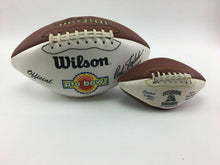 Load image into Gallery viewer, 1994 NFL PRO BOWL & 1997 PITTSBURGH PANTHERS FOOTBALLS - LOT 3073