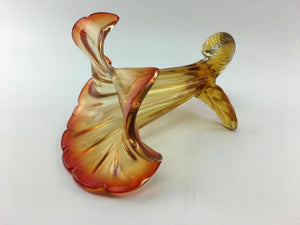 Vintage Blown Glass Lily - 3343