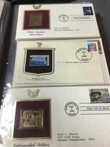Golden Replicas of United States Stamps -4438