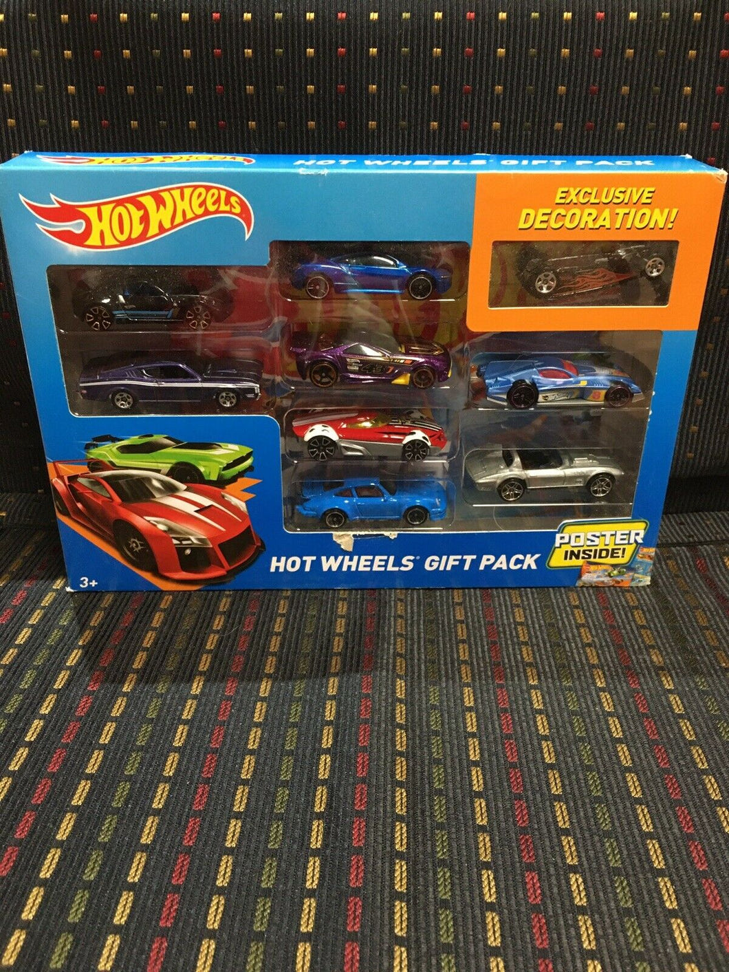 Hot Wheels 9 Car Exclusive Decoration Pack Diecast 1/64 Scale