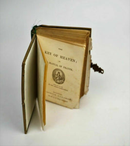 1865 The Key of Heaven or a Manual of Prayer - lot 1748