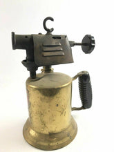 Load image into Gallery viewer, Vintage Turner Brass Works Blow Torch Tool w Wooden Handle- 4785
