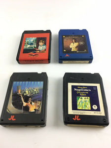 Vintage 8-track Tapes: Super Tramp, Diana Ross, Red Divine Etc..5653