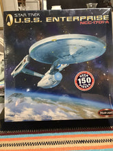 Load image into Gallery viewer, Star Trek USS Enterprise NCC-1701-A 1:350 Unpainted Model Kit Polar Lights-9080