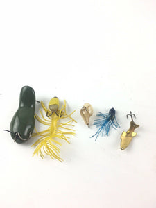 Vintage Fishing Lures Lot Of 5 5463