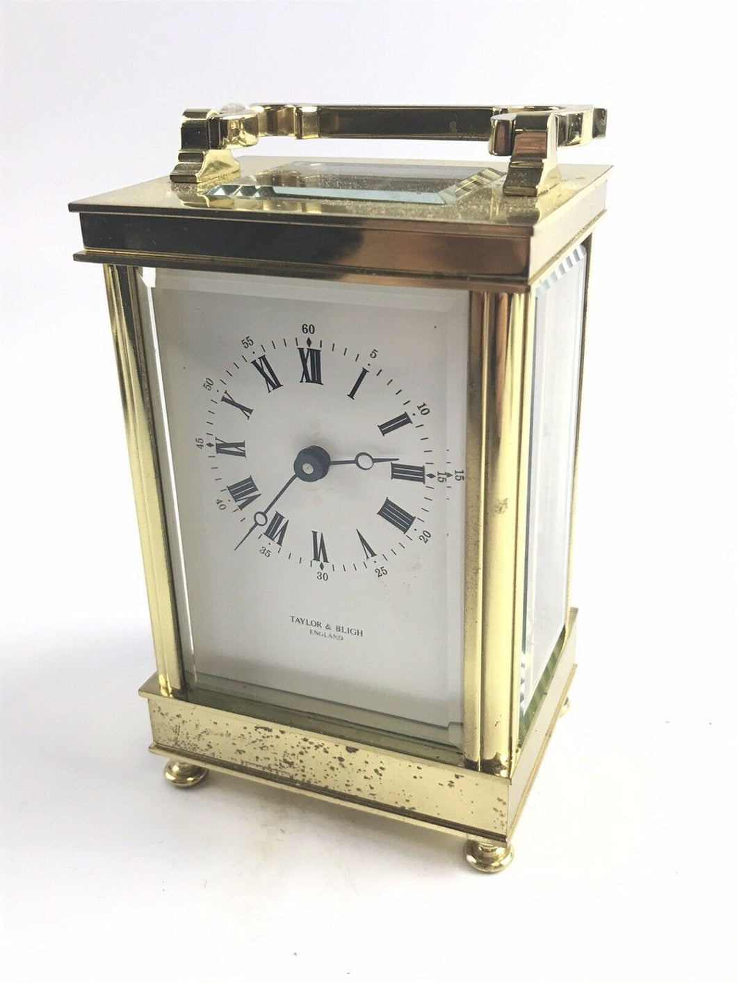 Vintage Taylor & Bligh Carriage Clock- Made In England- 5376