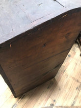 Load image into Gallery viewer, Vintage Early General Store Wooden Coffee Bin- 5098