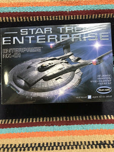 Star Trek Polar Lights Enterprise NX-01 1/1000 scale Plastic Model NIB- 8459
