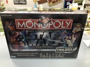 Monopoly Star Wars Original Trilogy Edition BRAND NEW! Pewter tokens- 3199
