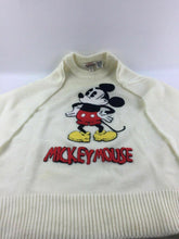 Load image into Gallery viewer, Disney Character Fashions  Mickey Mouse chenille sweater Vintage Size L  #1536