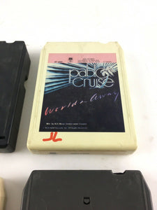 Vintage 8-track Tapes: Electric Light Orchestra Beach Boys, Pablo CruiseEtc 5660