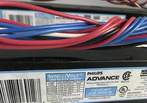 (2) Phillips Advance Ballasts NOS- 1859