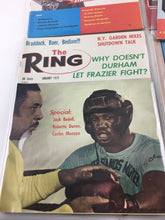 Load image into Gallery viewer, Assorted Lot Of 5 Vintage Boxing Magazines-1971-72 MINT-5483