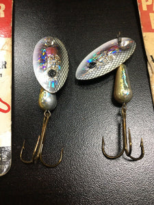 Vintage Fishing Lures Lot Of 5 Panther Martin 5783