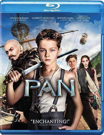 Pan [Blu-ray + DVD + UltraViolet]- 8162