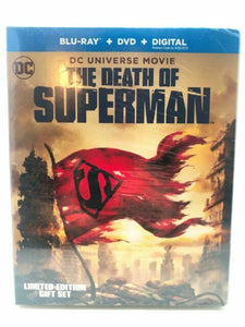 The Death of Superman (Blu-ray/DVD, 2018, Graphic Novel) NEW 8129