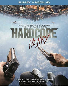 HARDCORE HENRY New Sealed Blu-ray- 3153